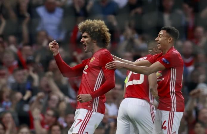Marouane Fellaini, Jesse Lingard, Manchester United, Celta Vigo, Europa League