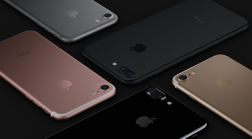 Apple's iPhone 7 as seen on its official website