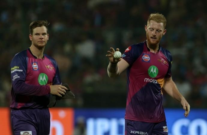 Steve Smith, Ben Stokes, RPS vs KXIP, IPL 2017