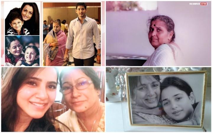 Mahesh Babu, Mohanlal, Tamannaah, Samantha with their mothers