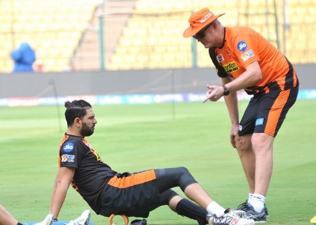Yuvraj Singh, Tom Moody, SRH, KKR, IPL 2017