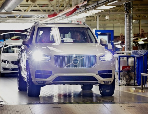 Volvo Cars India local assembly