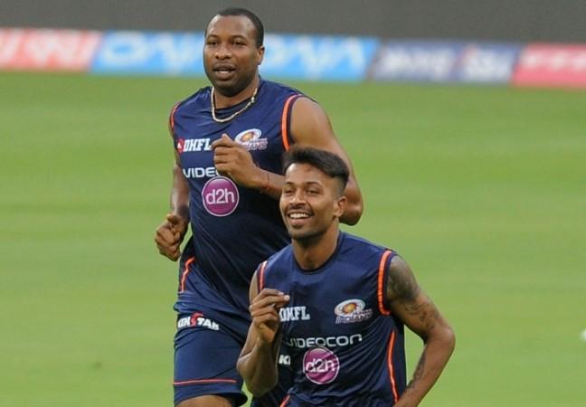 Kieron Pollard, Hardik Pandya, Mumbai Indians, KKR, IPL 2017