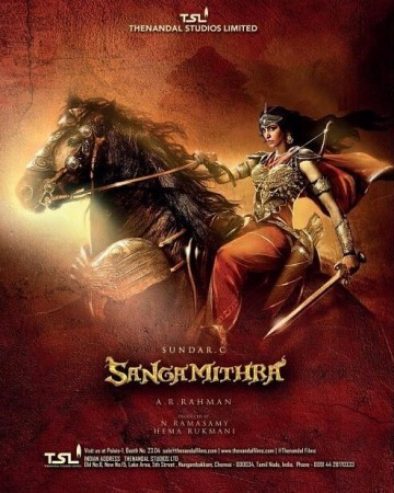Shruti Haasan's Sanghamitra poster