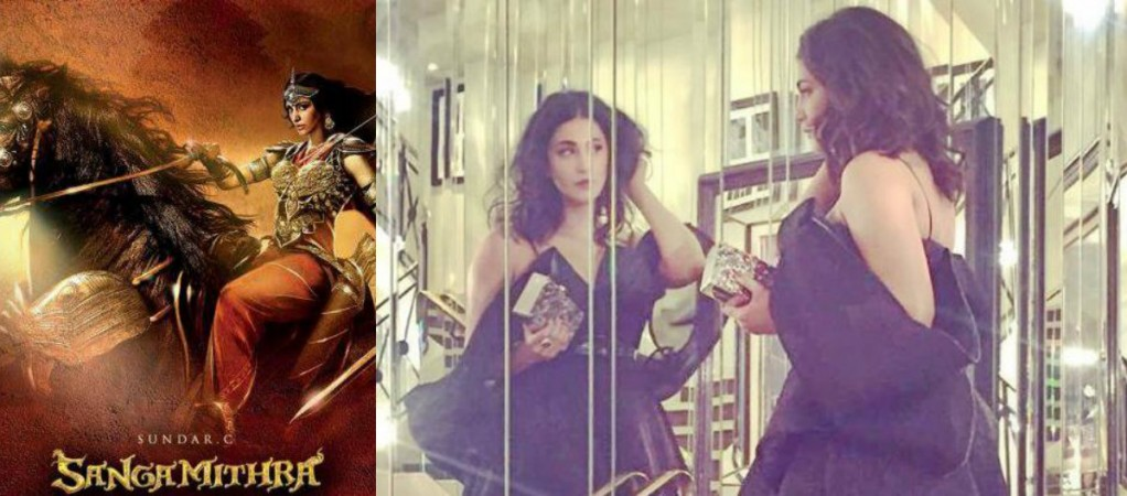 Shruti Haasan attends Cannes 2017 to launch Sanghamitra poster