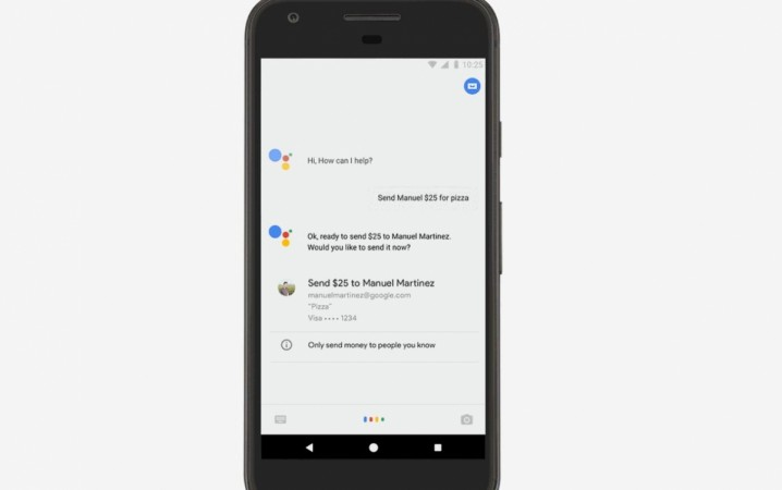 Google Assistant, payment option, Google Wallet, Android Pay
