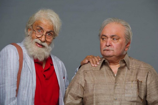 102 Not Out, Amitabh Bachchan, Rishi Kapoor