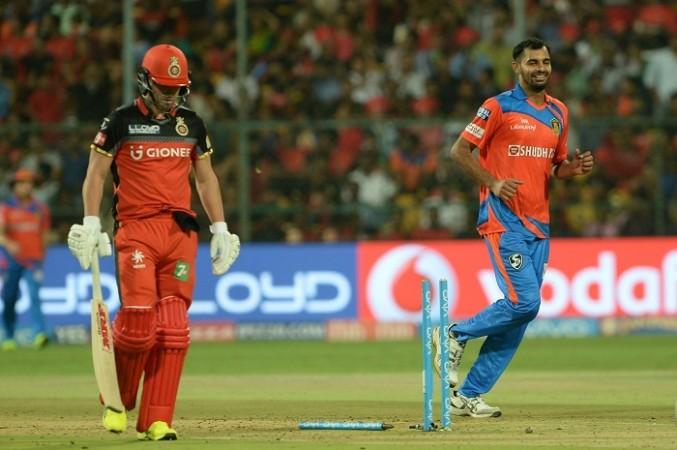 AB De Villiers, RCB, Ankit Soni, Gujarat Lions, IPL 2017