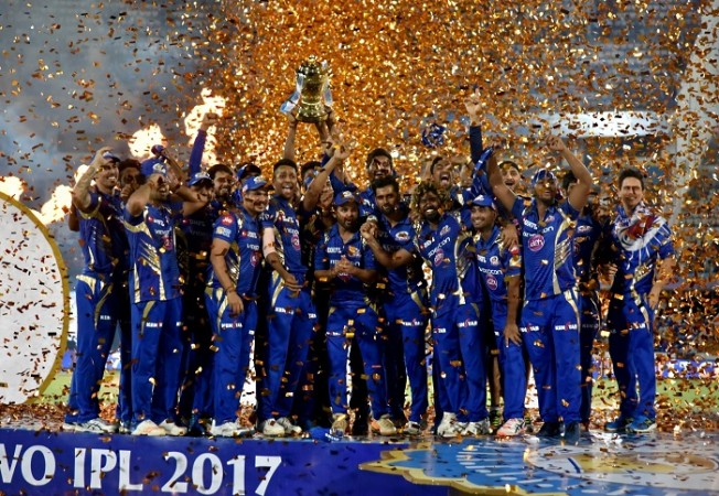 Mumbai Indians, IPL 2017, final, trophy, RPS