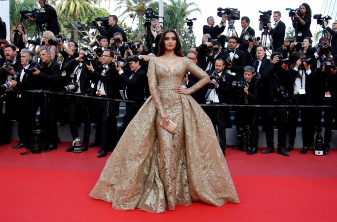 Image result for sonam kapoor cannes 2017