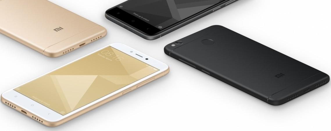 Xiaomi Redmi 4 as seen on Mi website