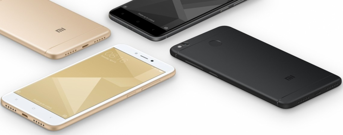 Xiaomi Redmi 4 as seen on Mi website