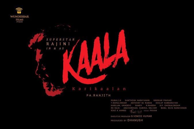The first look of Rajinikanth's Kaala