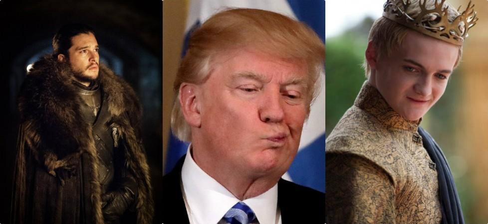 Jon Snow, Donald Trump and King Joffrey