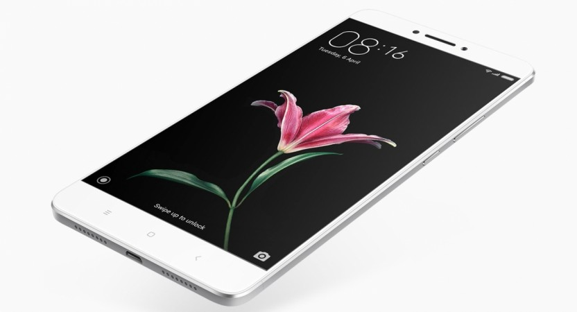 Xiaomi Mi Max as seen on the company's official website