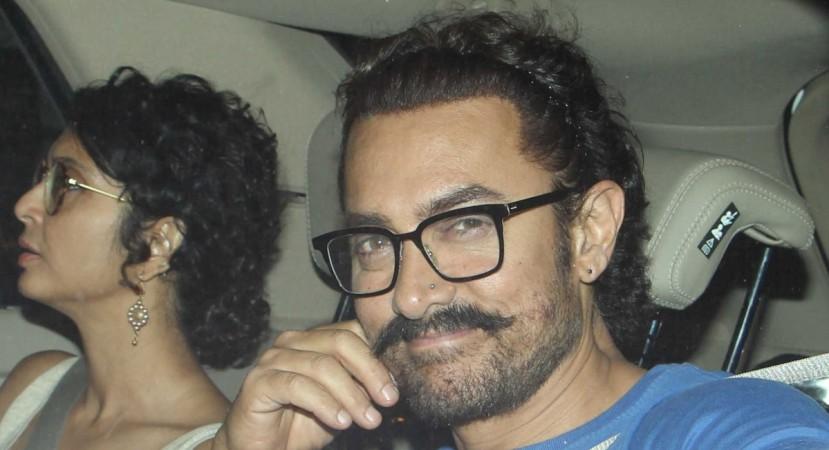 Aamir Khan nose pierced