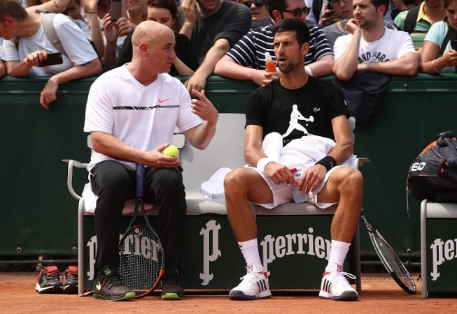 Andre Agassi, Novak Djokovic, French Open 2017, coach, Marcel Granollers