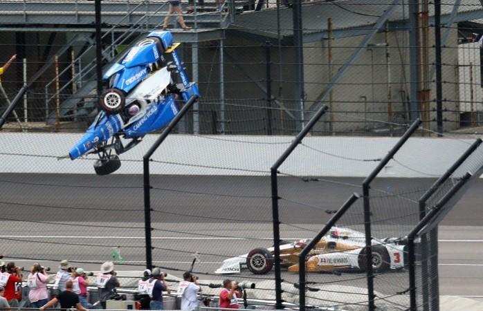 Scott Dixon, Indy 500, Scott Dixon crash
