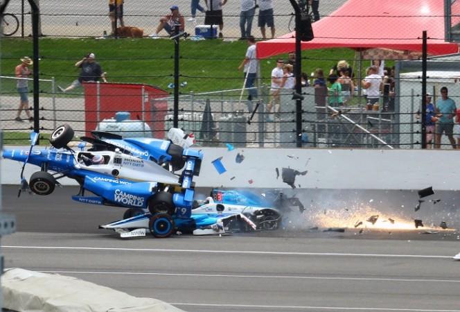 Scott Dixon, car crash, Indy 500, Dixon's crash