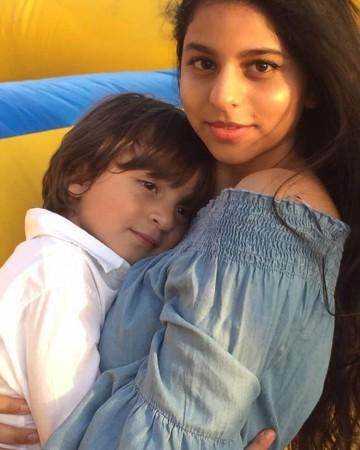 Suhana Khan with AbRam