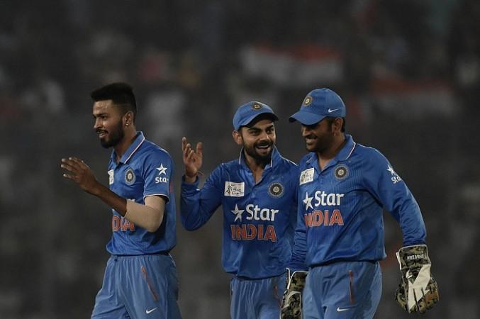 India captain, Virat Kohli, MS Dhoni, Champions Trophy