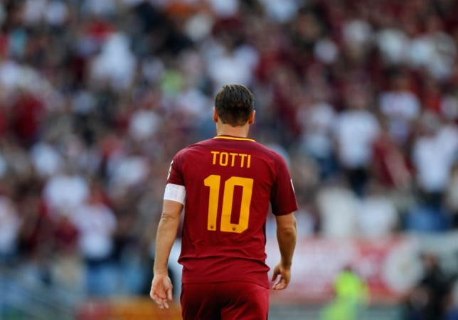 francesco totti, as roma