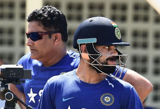 Anil Kumble, Virat Kohli, India Cricket, India coach, Champions Trophy 2017