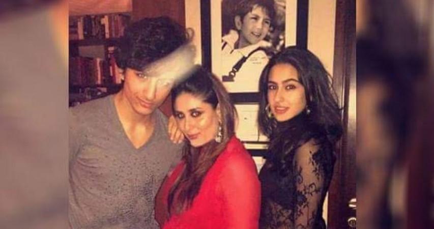 Kareena Kapoor Khan with Sara and Ibrahim