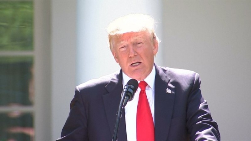 Donald Trump announces withdrawal from Paris Climate Accord: Were getting out