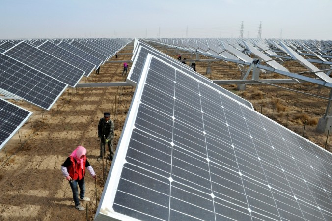 China solar power plant