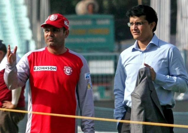 Virender Sehwag, Sourav Ganguly, India, coach