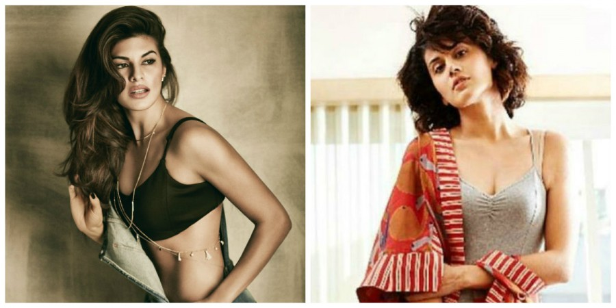 Jacqueline Fernandez and Taapsee Pannu