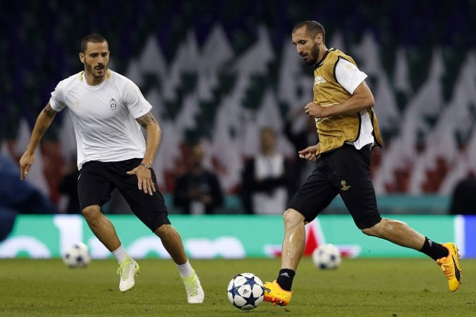 Leonardo Bonucci, Giorgio Chiellini, Juventus, Real Madrid, Champions League 2017 final