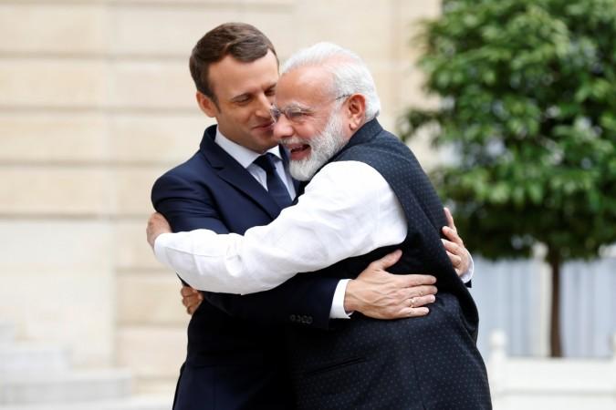 Modi Macron