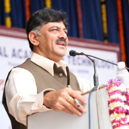 Energy Minister of Karnataka DK Shivakumar