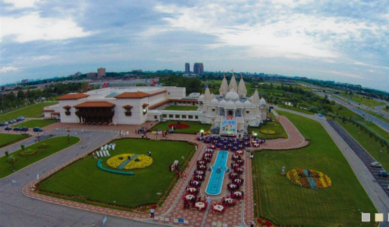 Lord Venkateswara temple situated at Robbinsville township of New Jersey