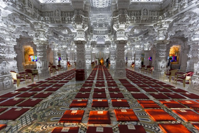 Great Prayer Hall at Lord Venkateswara temple