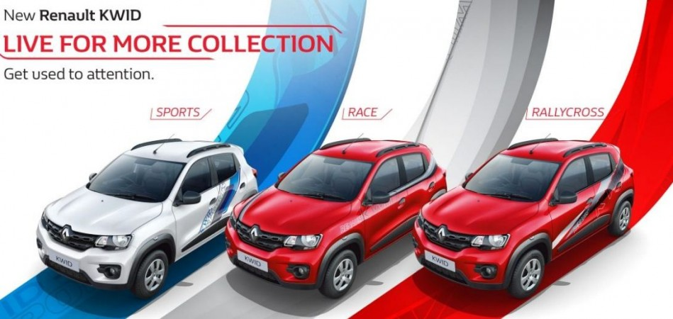 Renault Kwid Live For More Edition Gets 7 New Graphic Options