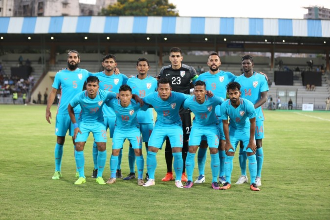 new arrival 0433e 36ac0 Nike's plain design of the new Indian football team jersey ...