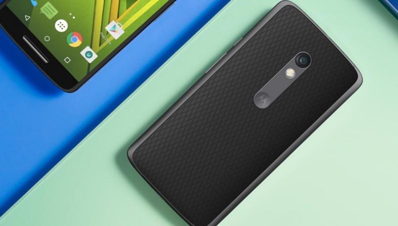 Motorola's Moto X Play as seen on the company's website