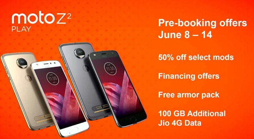 Moto Z2 Play, Lenovo, pre-order offers,price, specs, Moto mods, Moto Gamepad
