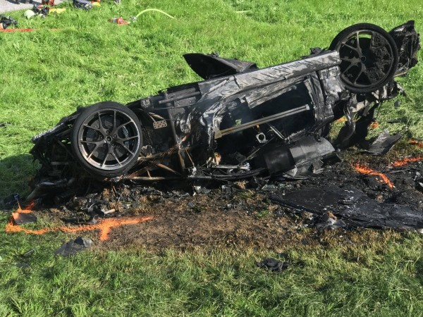 Richard Hammond's car crash during The Grand Tour season 2