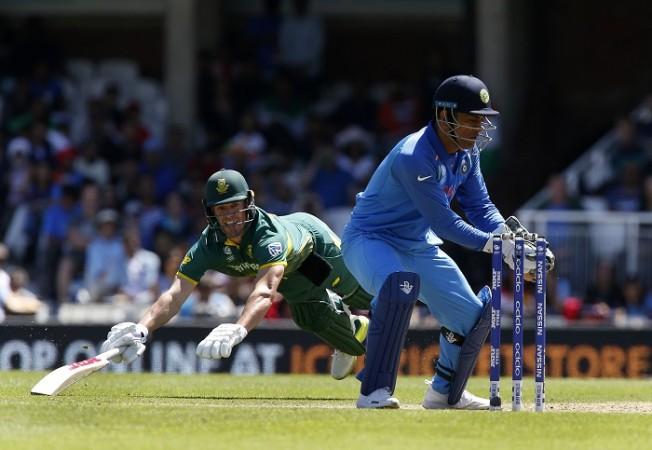 AB De Villiers, South Africa, MS Dhoni, India, ICC Champions Trophy 2017