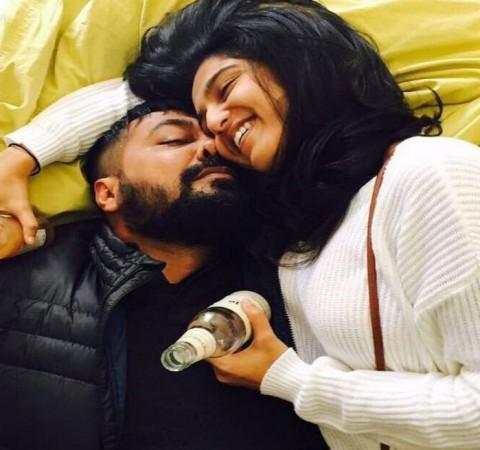 Anurag Kashyap and Shubra Shetty