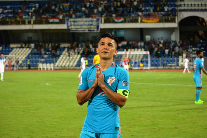The best numbers from Sunil Chhetri's century of games
