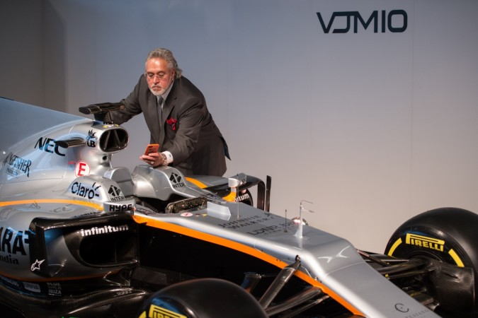 vijay mallya, sahara force india
