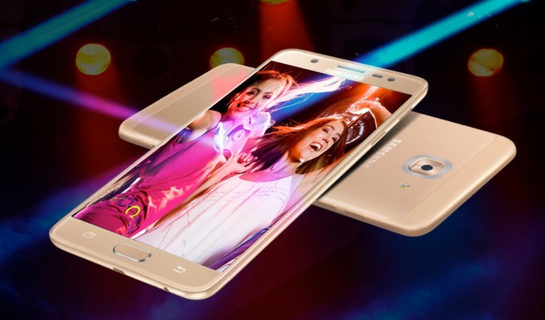 Samsung Galaxy J7 Max as seen on official website