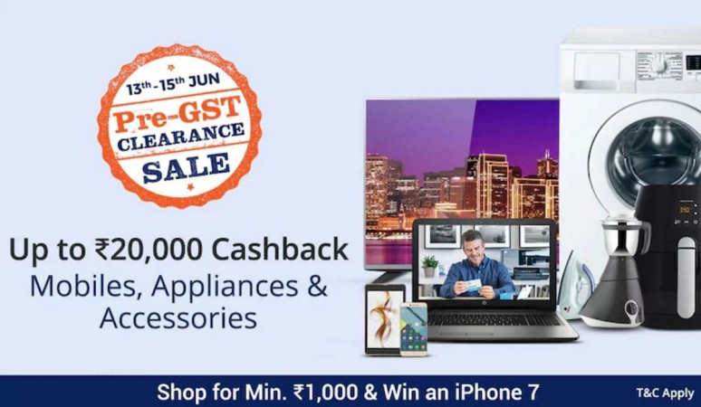 Paytm, GST sale, India, iPhone 7, Google Pixel,