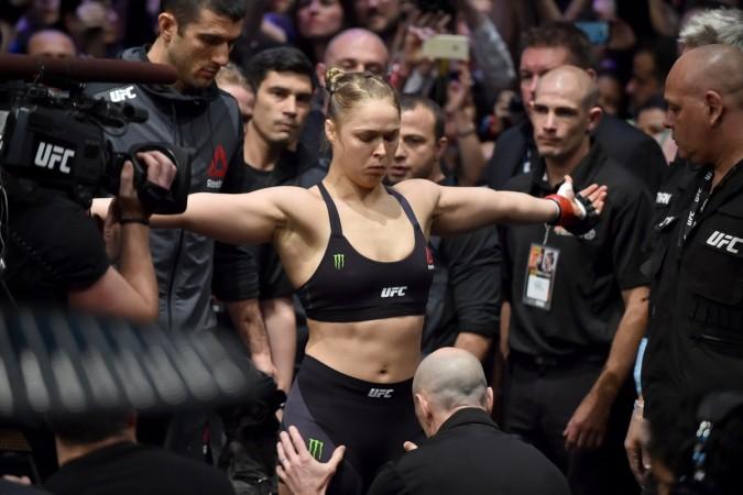 Ronda Rousey Suffers Marilyn Monroe Moment Wardrobe Malfunction