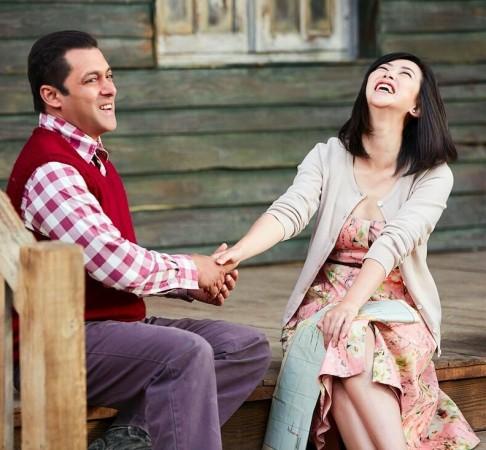 Salman Khan and Zhu Zhu in Tubelight